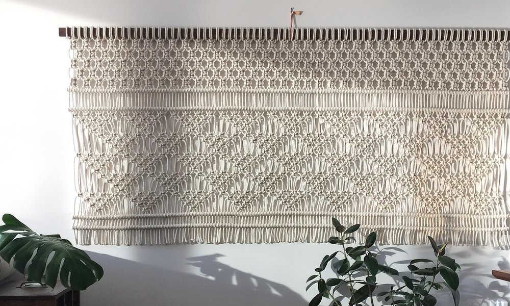 Holly Mueller Home specializes in handmade woven artwork and design services based in Portland, Ore.