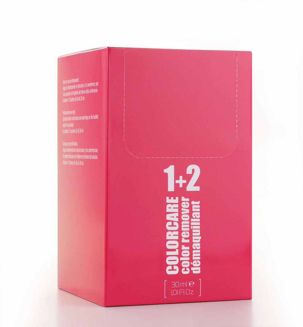 Box contains 12 sachets (6+6) 30 ml