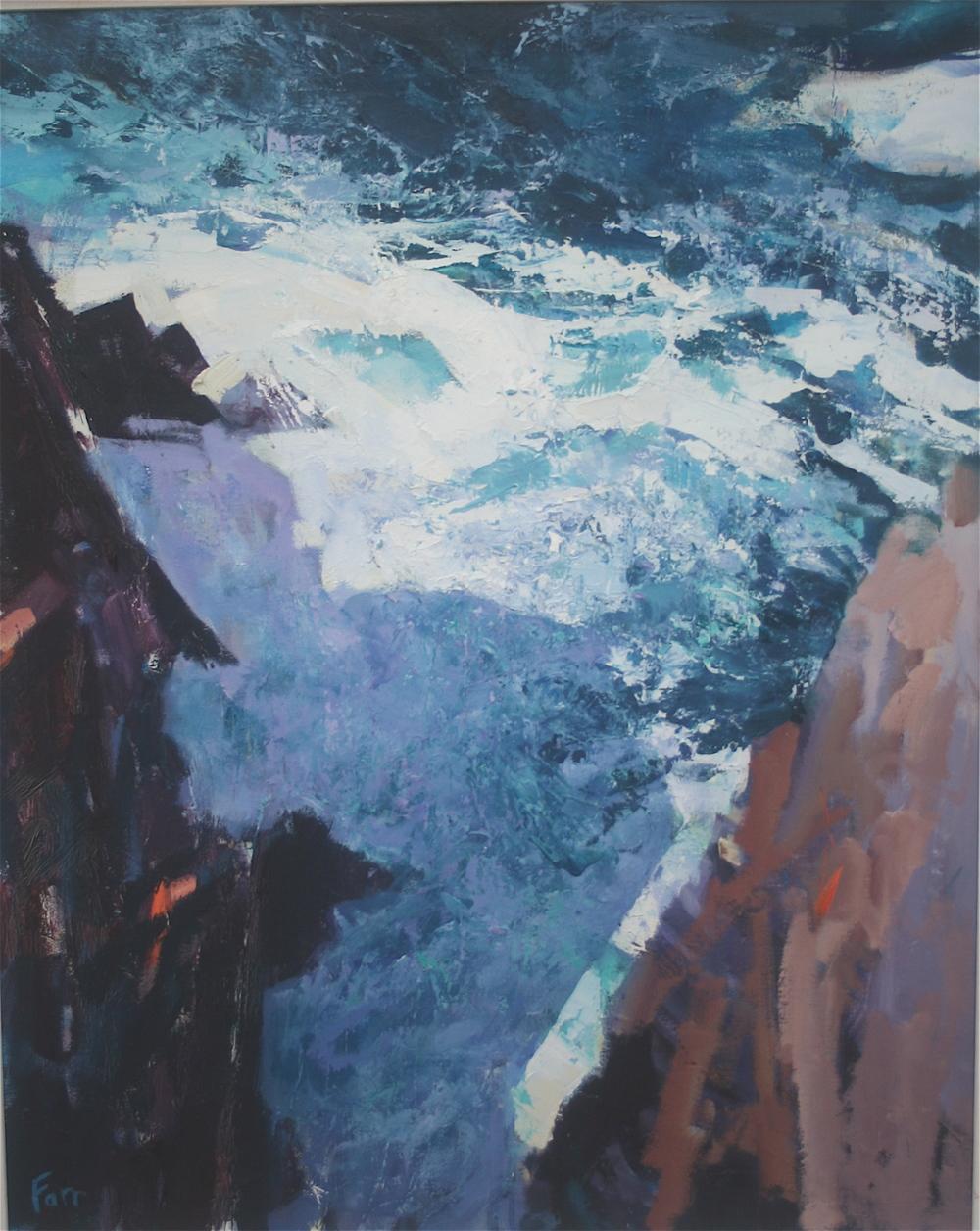 Cliff Shadow, Slea Head [Scáth Faille, An Dún Mór]