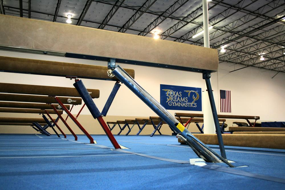 Size Matters.  36,000 sq./ft. of equipment means more repetitions & efficient practices.  Our gymnasts train earlier, utilizing mornings & afternoons, maximizing the equipment time for everyone.