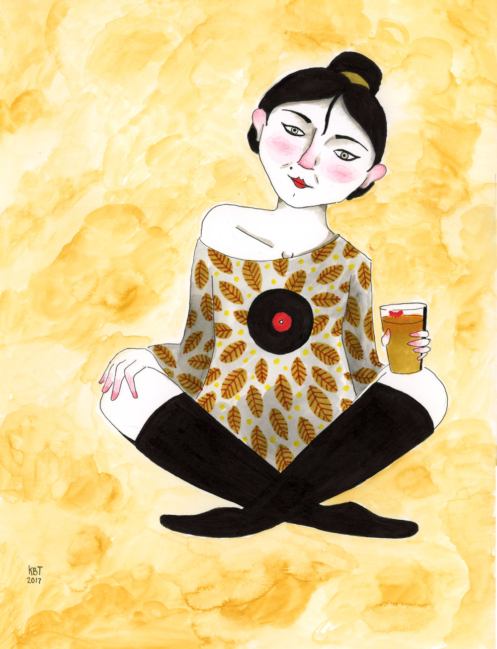 Lady Sipping on Beer.jpg