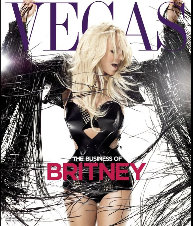 Vegas Magazine Cover 2014 Issue 1  Winter 2014 Britney Spears
