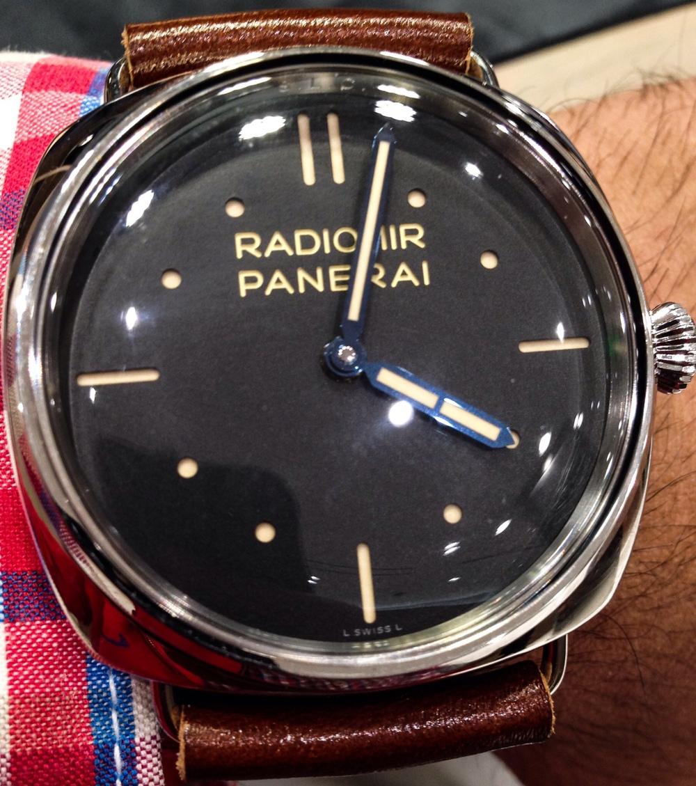wrist shot of Panerai PAM00449