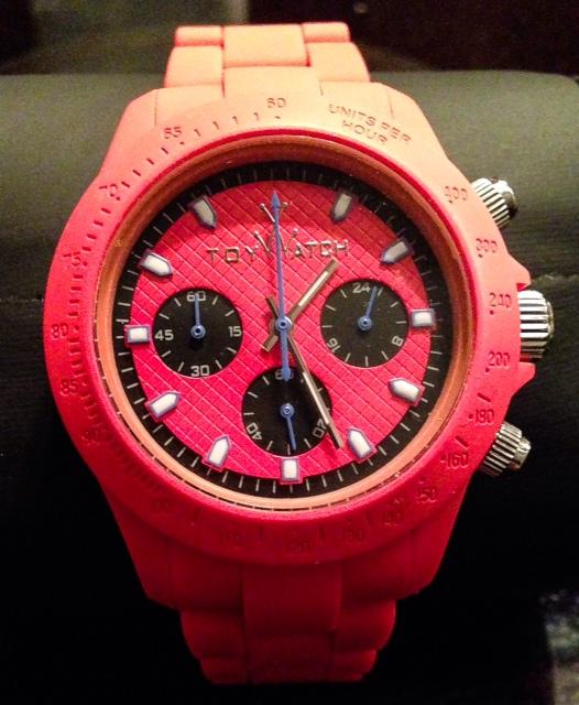 Toy Watch Red Velvety