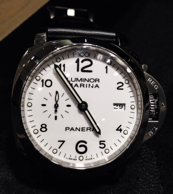 Panerai PAM00499- 44mm 1950 3 Days Automatic Acciaio pic taken by ADH