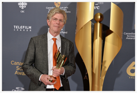 Photo courtesy of G. Pimentel Photography John Welsman wins the 2014 CSA award forBest Original Music for a Non-Fiction Program or Series for his score forWest Wind: the Vision Of Tom Thomson. The film was co-directed by Michèle Hozer and Peter Raymont for White Pine Pictures, and the score features the fine musicianship of Winona Zelenka on cello, Anne Lindsay on violin, and Ronan Browne on pennywhistle.