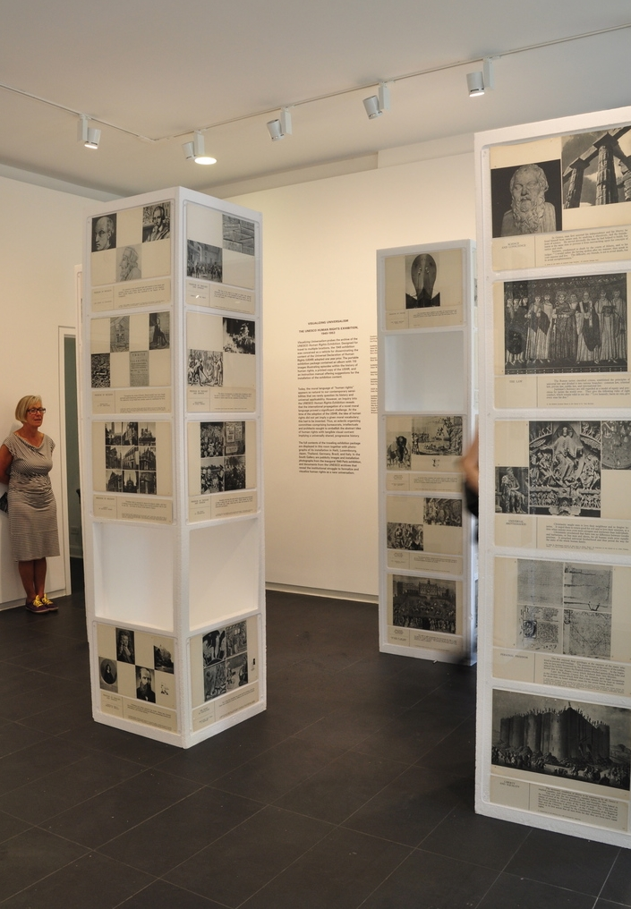 EXHIBITIONS    We develop and collaborate on exhibitions b  ased on the visual archive of UNESCO's Human Rights Exhibition from 1949 and contemporary documentary photography. These exhibitions serve as platforms for critical debate on contemporary human rights culture.