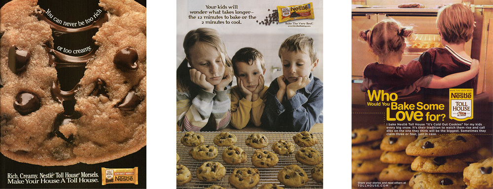 Magazine ads displayed in the i. (1991, 2003 and 2006)