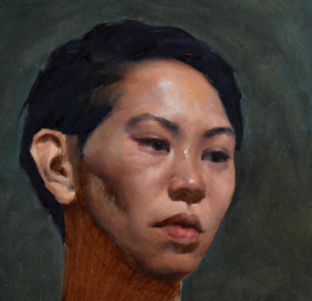 Étude de portrait (non complété), Automne 2015