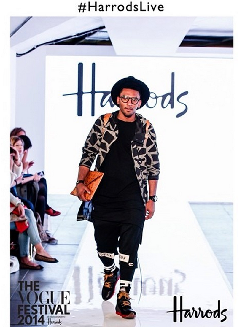 Harrods catwalk @ The `Vogue festival 2014