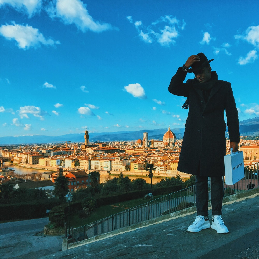 Sug-Sean in Florence, italy