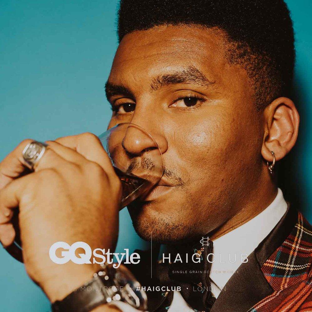 GQ Style x Haig Club
