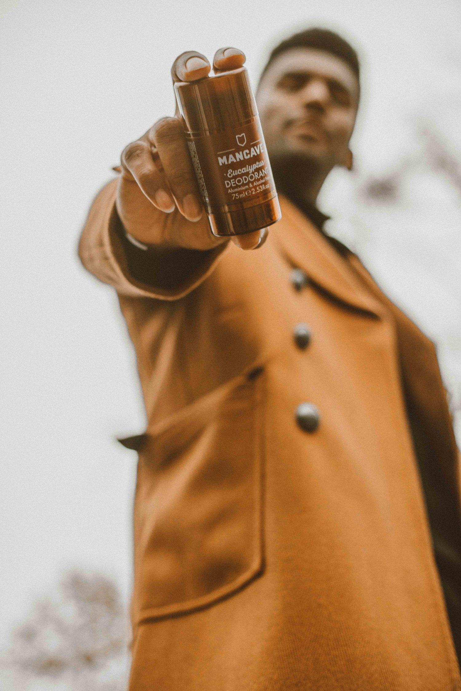 ManCave -Blackspice Body Scrub & Eucalyptus Deodorant — Sug-Sean