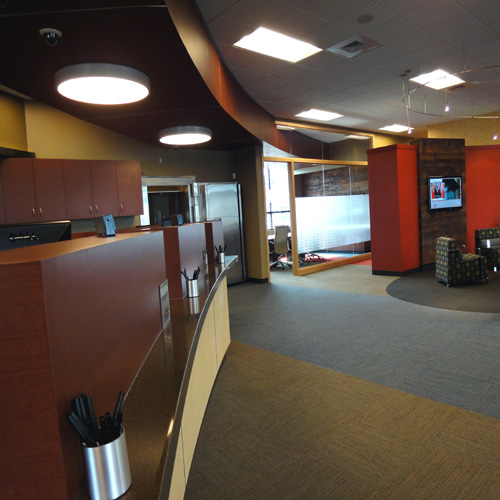 Wheatland Bank | Wenatchee Branch | Entry Lounge