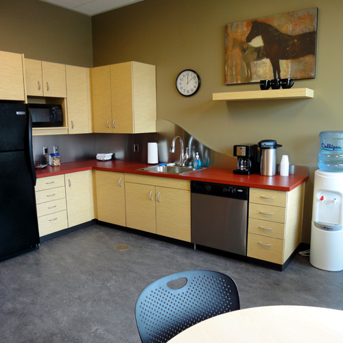 Wheatland Bank | Wenatchee Branch | Break Room