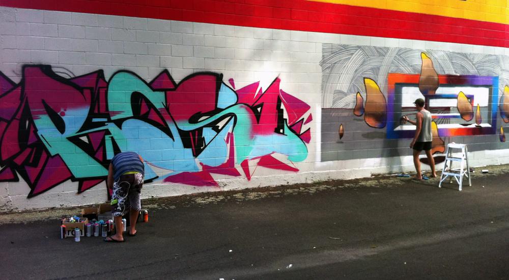 Jam wall - Ras1 and Wert159
