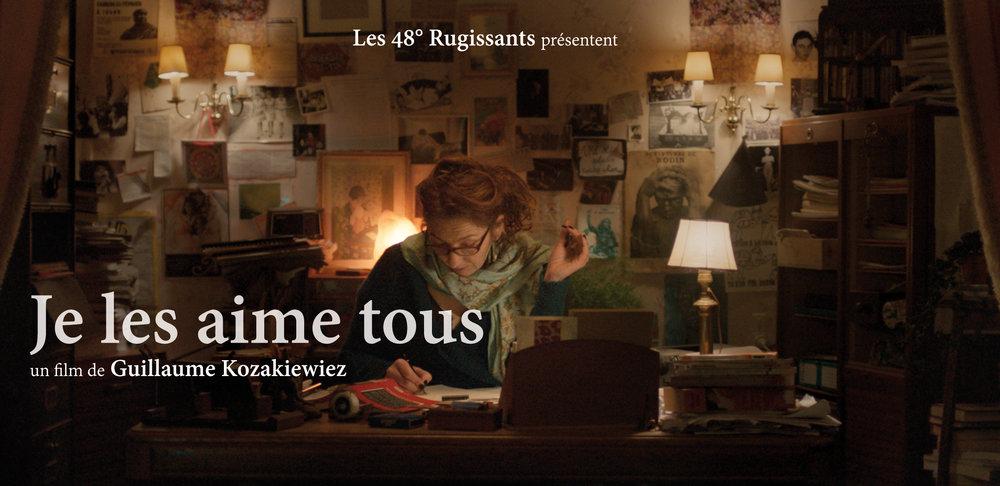 """""""JE LES AIME TOUS"""" de Guillaume Kozakiewiez Sélectionné en compétition nationale au Festival de Clermont-Ferrand 2017. Youhou! Merci à toute l'équipe! http://www.clermont-filmfest.com/index.php?&m=21&c=3&id_film=200062506&o=107"""