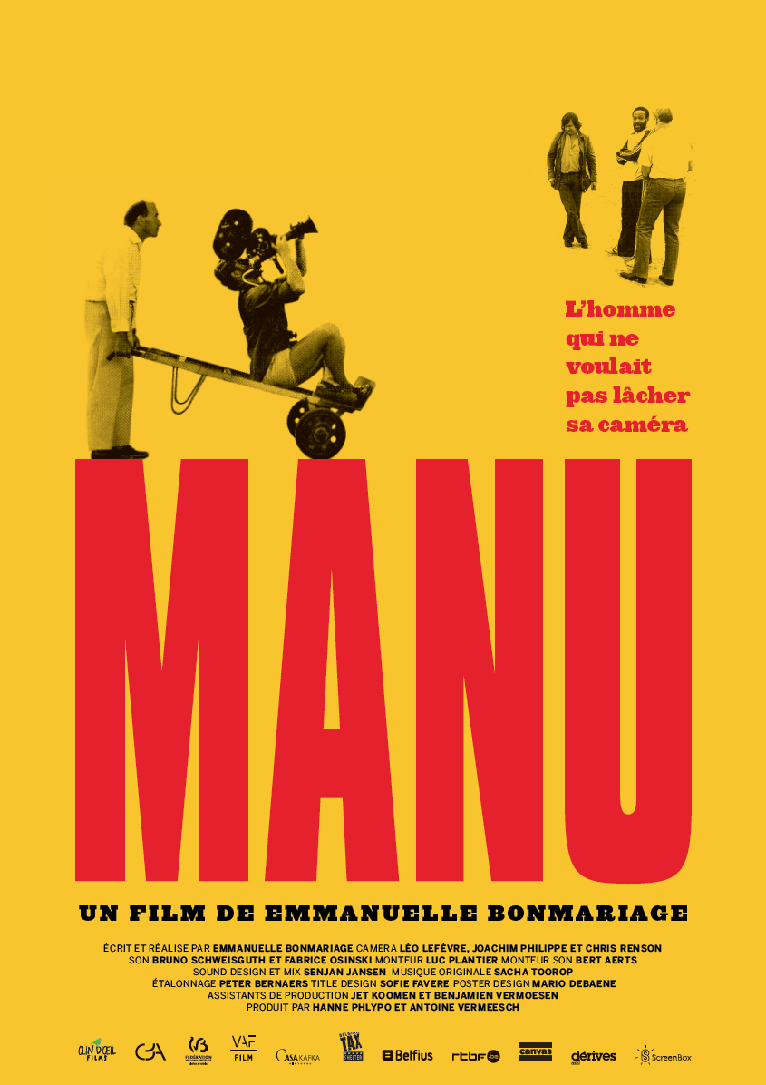 """MANU""  Avant-Premiere at Cinema Flagey !  May, 27th - 7:15pm"