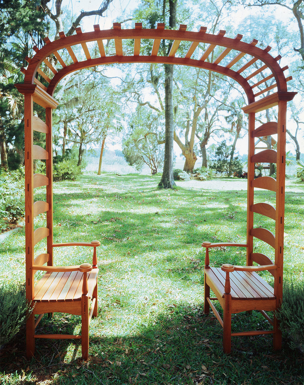 Two-Seated Arbor