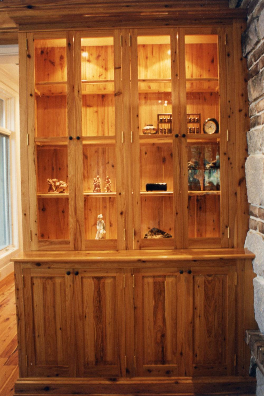 Australian Cypress Cabinet