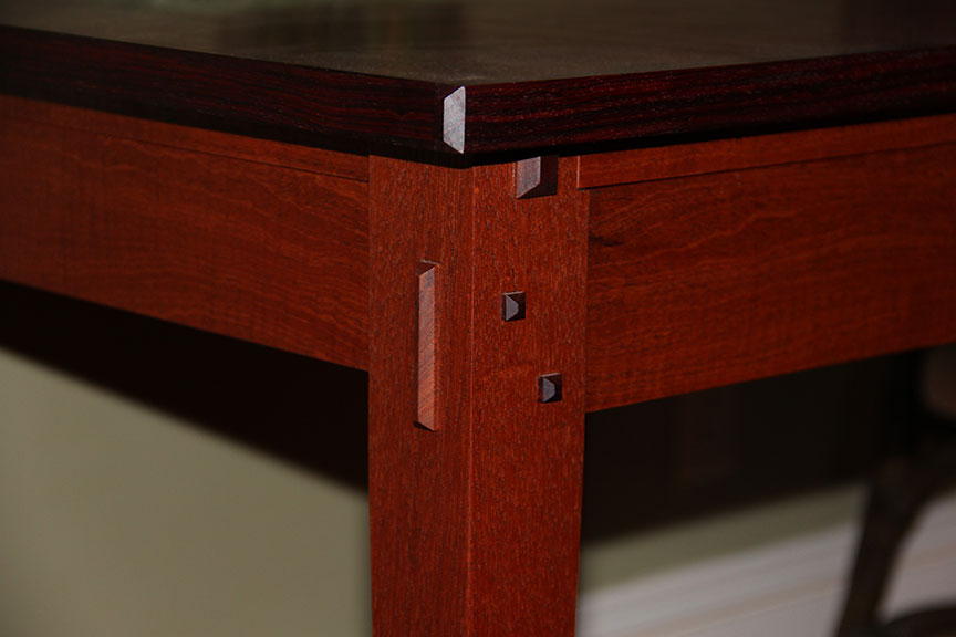 Furniture Detail of Mahogany Game Table
