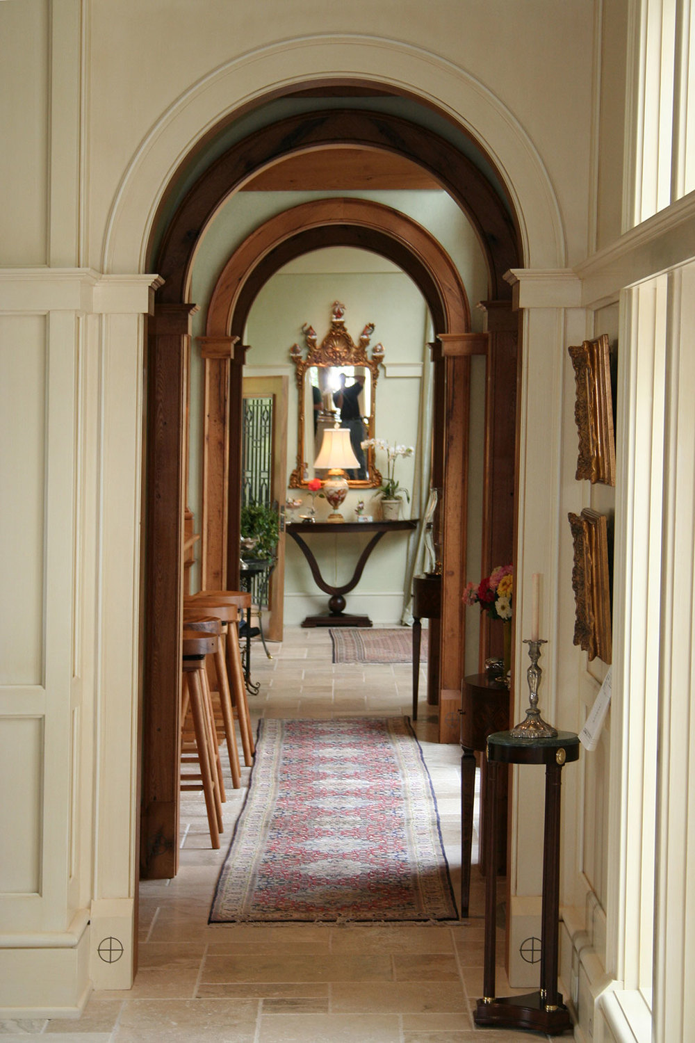 Wall Paneling & Archways