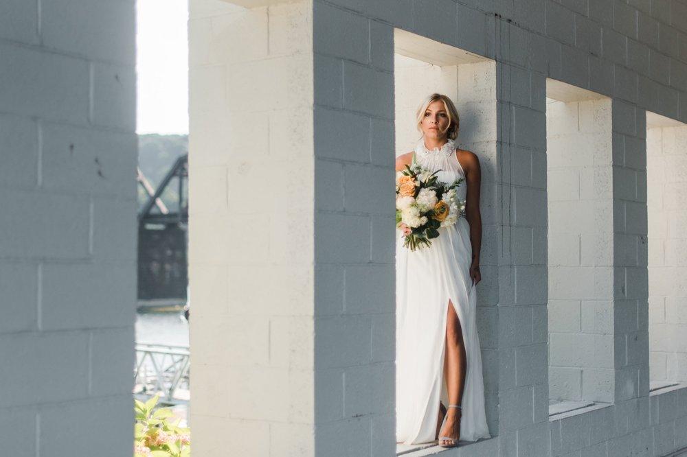 Modern Inspiration-Riverfront Weddings -
