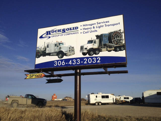 Rock Solid Billboard in SK.