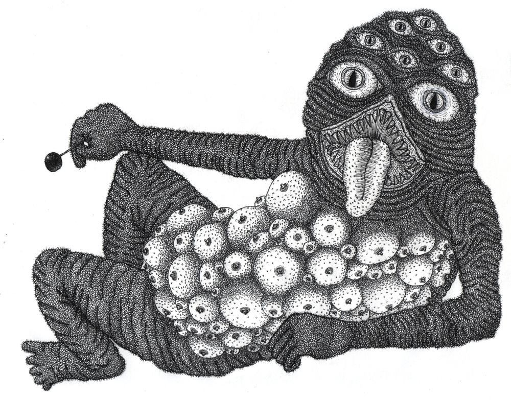 """""""Lollipop (Titty) Monster"""""""