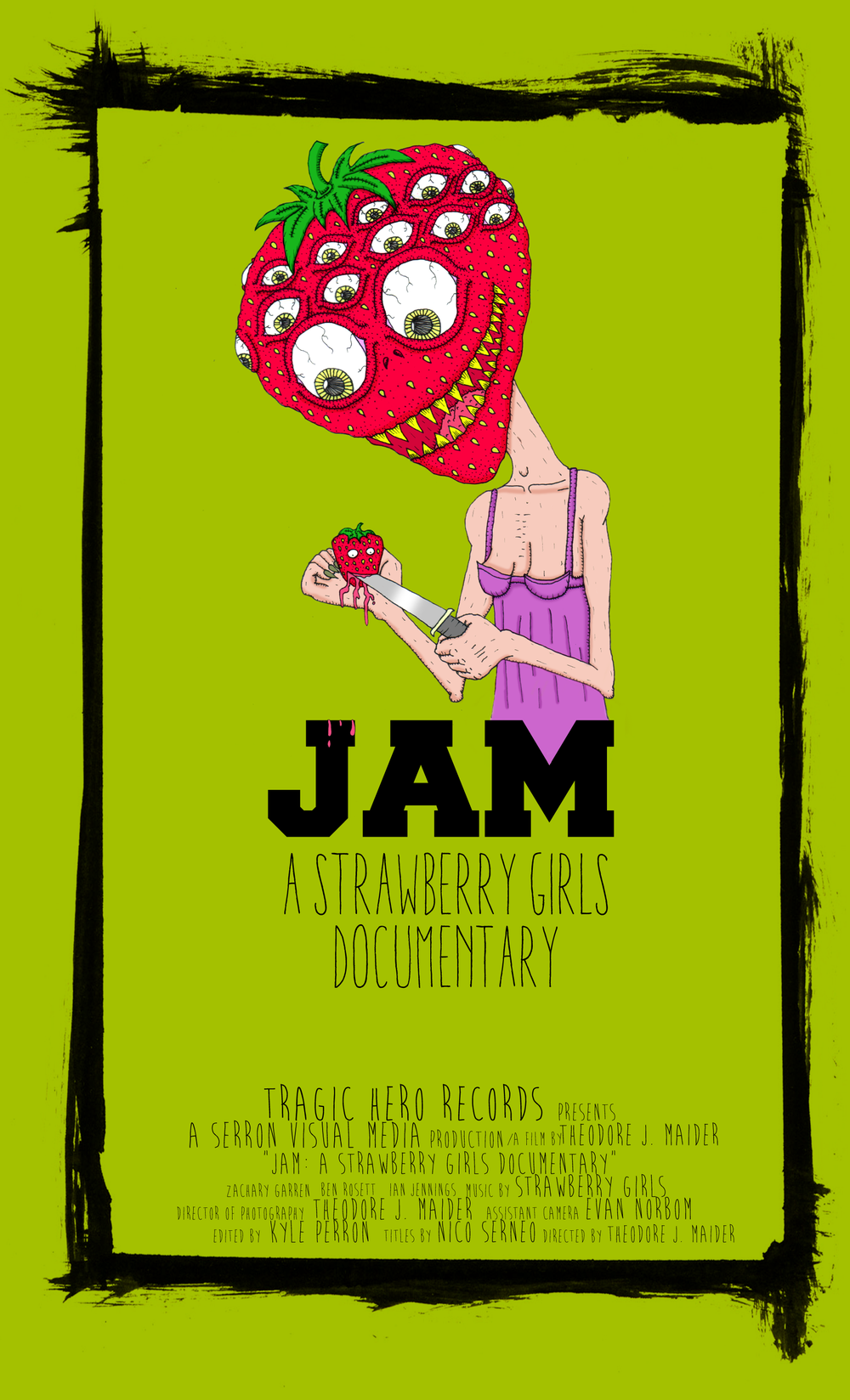 """JAM: a Strawberry Girls documentary"