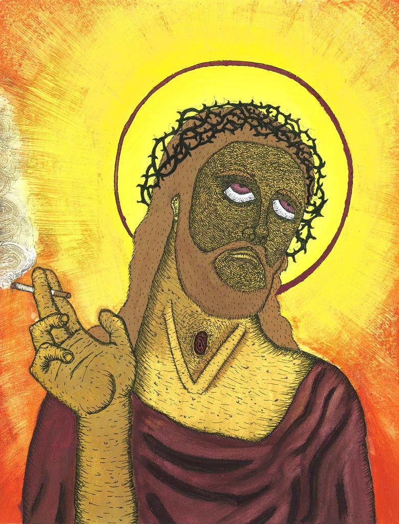 Jesus Smokes