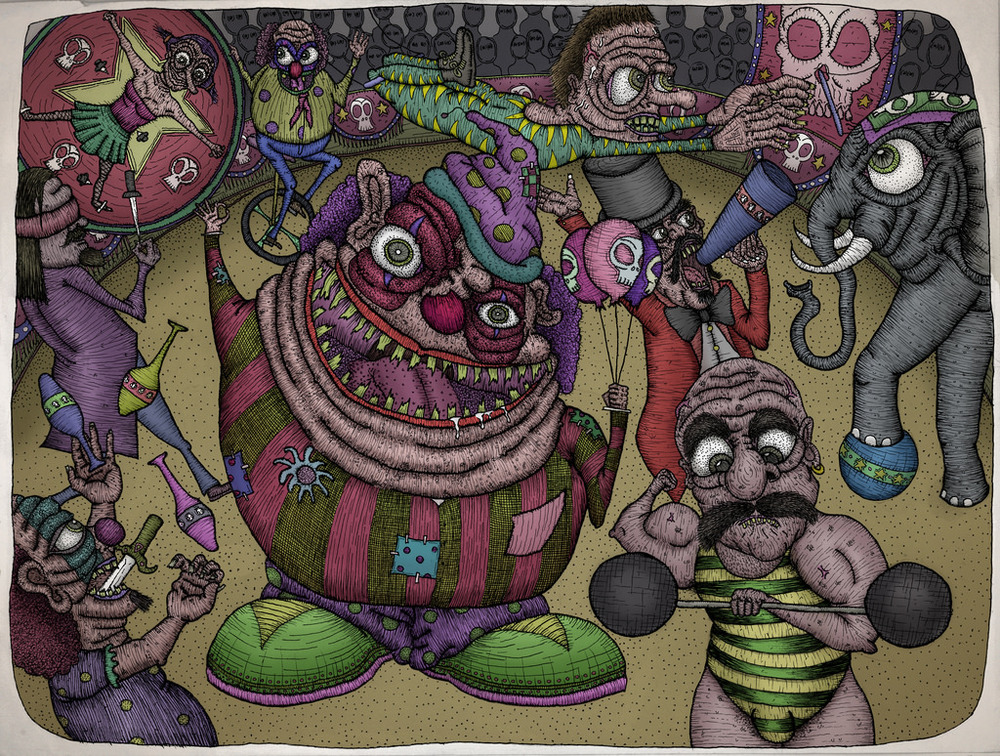 The Circus (colored)