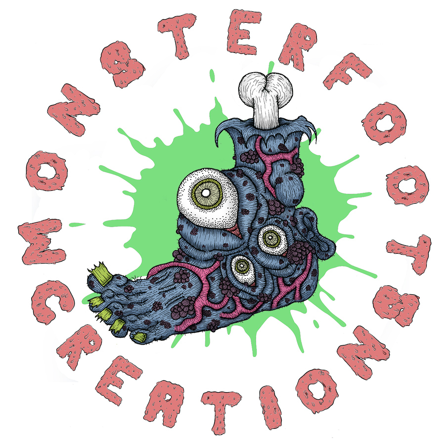 Foot x MonsterFootCreations