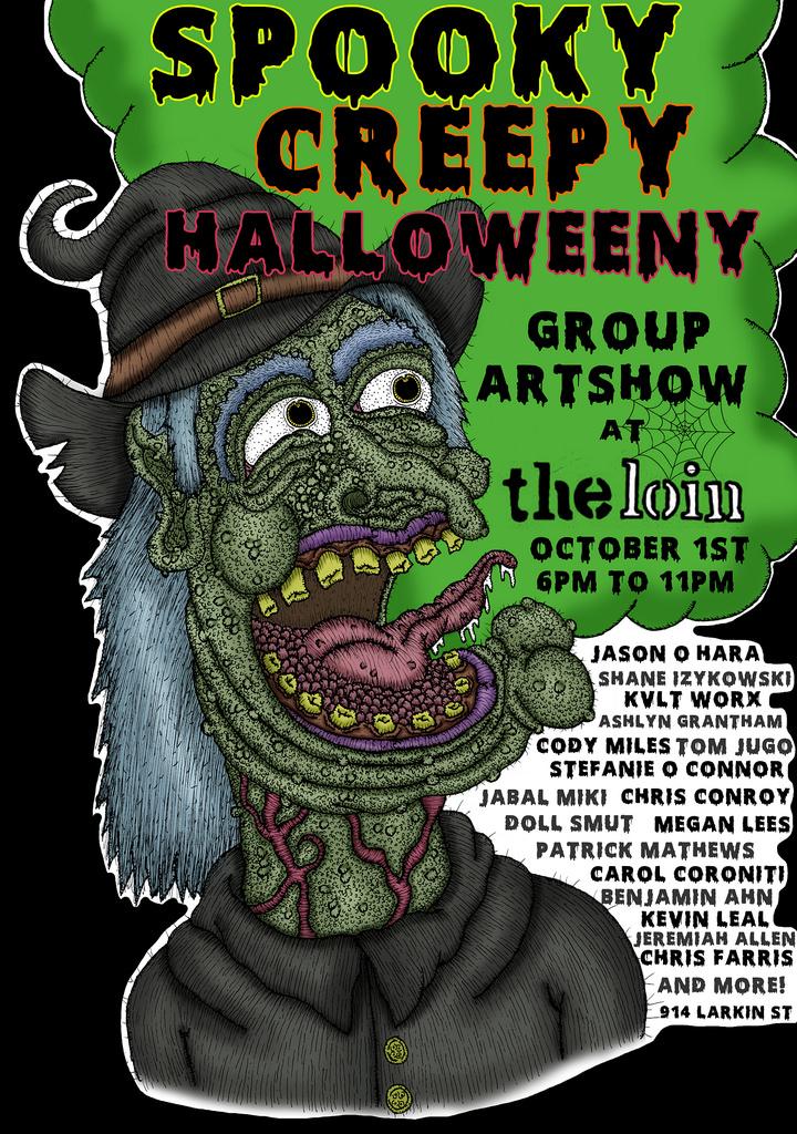 Spooky Creepy Halloweeny