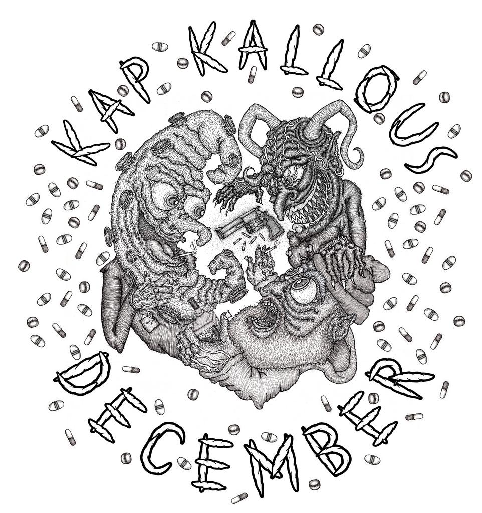 Kap Kallous - December Shirt Design