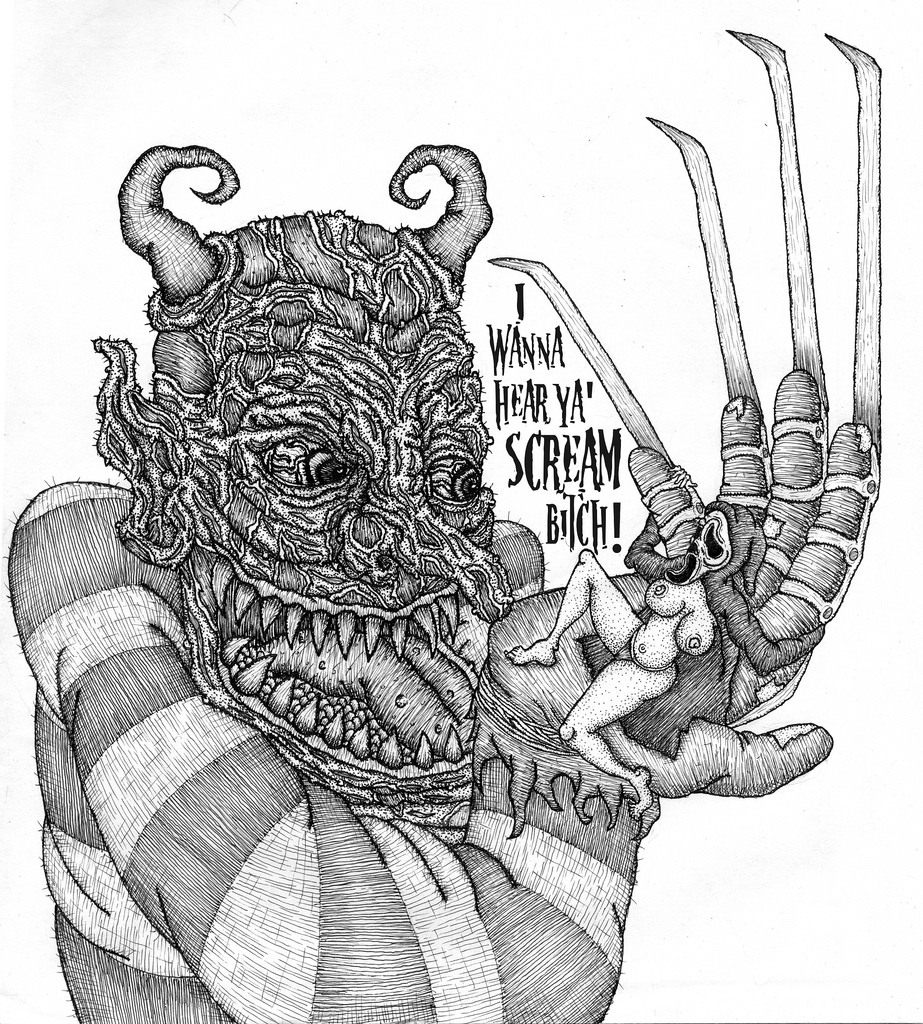 West Craven Tribute for MonstersHoldingBitches zine 4