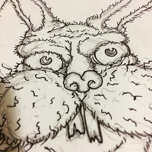 finally starting on a bunch of new drawings for something. This is the first.. #Easter