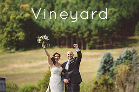 A vineyard wedding followed by beer and wine tasting in Leelanau County. Cheers!