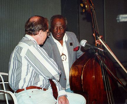 Ed with Milt Hinton
