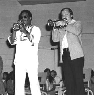 Clark Terry and Ed