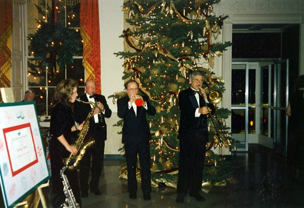 Performing at Congressional Ball in White House