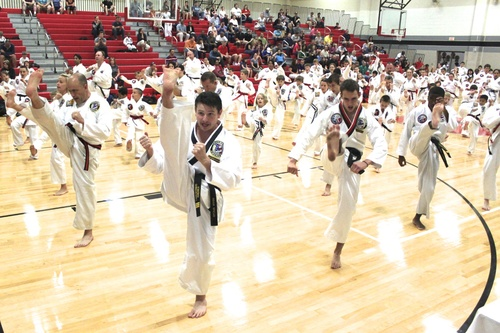 Karate training will make you more flexible.
