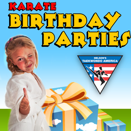 Click the image above to learn more about our awesome Martial Arts Birthday Party packages.