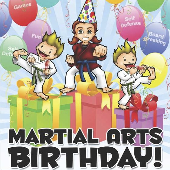 Martial Arts Karate Birthday Party Kids Lexignton KY