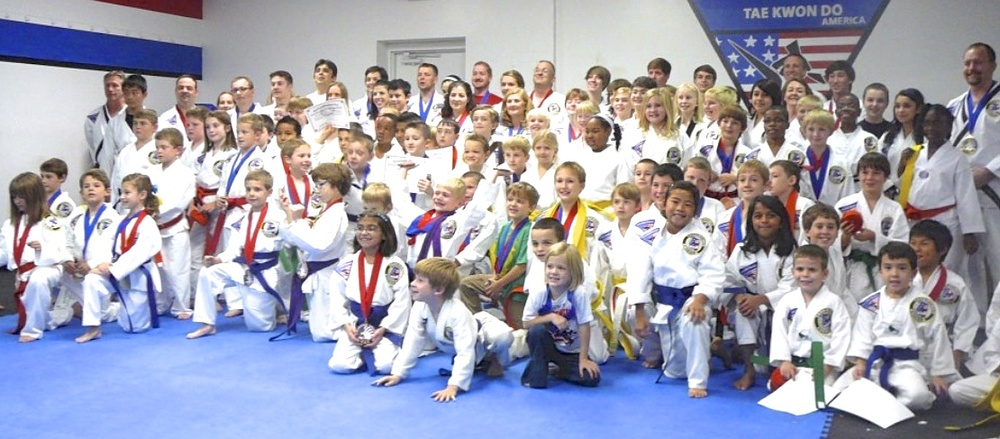 Our Award Ceremonies are always fun. Come join our Lexington martial arts family today!