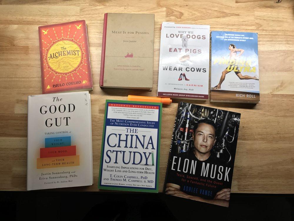 I like to read.
