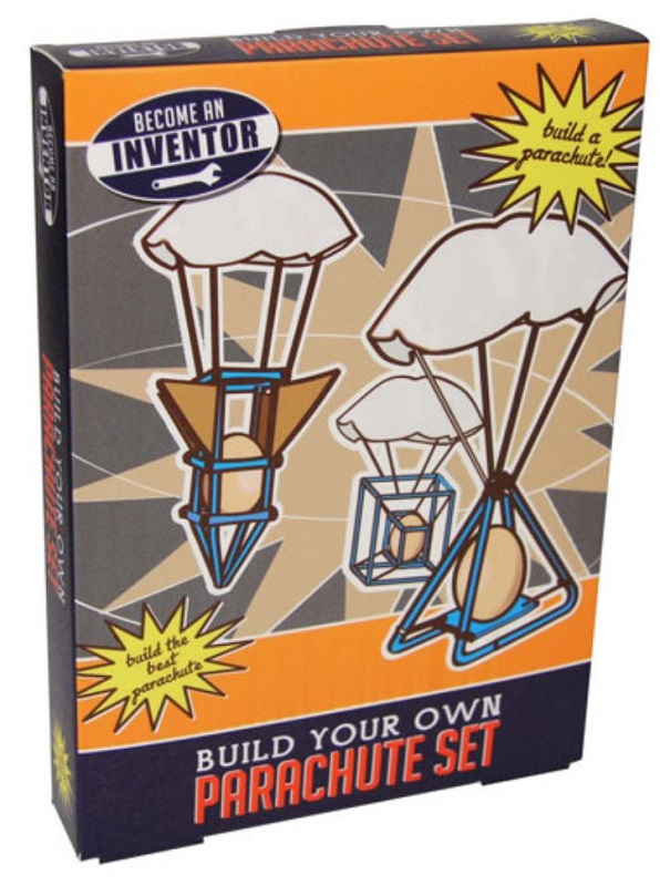 Build your own parachute kit the vintage toy box Build your own toy chest