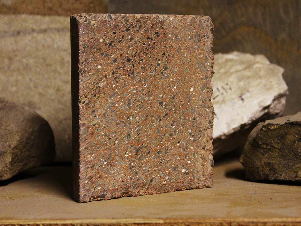 Fly Ash Concrete >> New Geopolymer Masonry from Watershed Materials Turns Natural Clays Into Durable Building ...