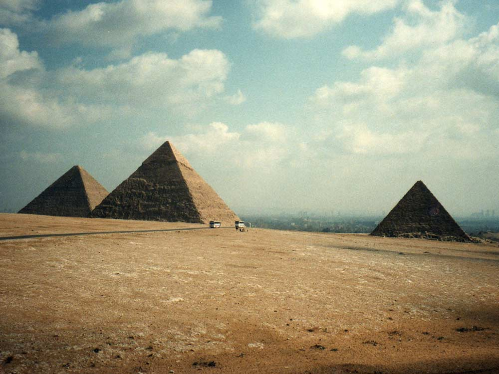 geopolymer concrete  egyptian pyramids  and a new way