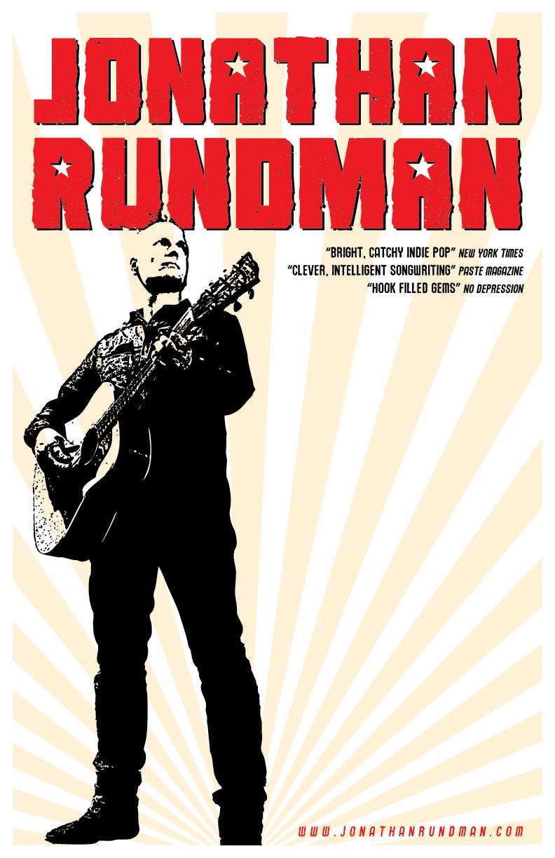 Jonathan Rundman vertical Fall 2014 11X17 poster